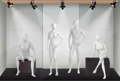 Производство Манекенов для моды и аксессуаров